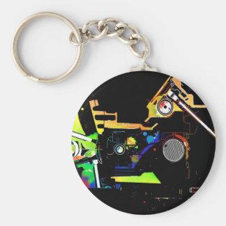 Porte-clés Moteur de voiture
