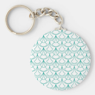 Porte-clés Motif bleu
