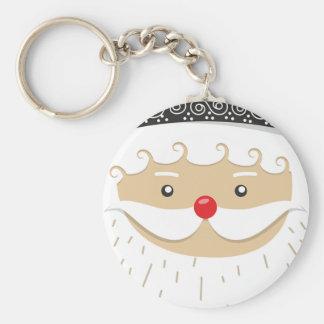 Porte-clés Motif de Noël du père noël