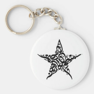Porte-clés Motif d'étoile de Bismillah