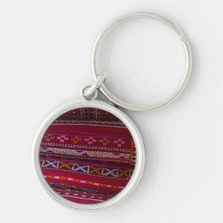 Porte-clés Motifs de coussin de textile