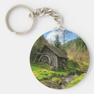 Porte-clés Moulin Allemagne de blé à moudre de forêt noire