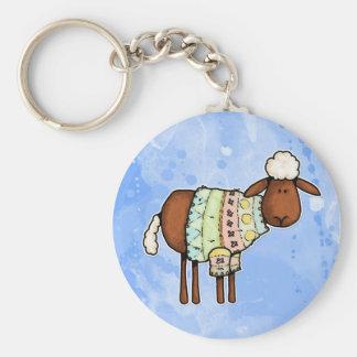 Porte-clés moutons de chandail