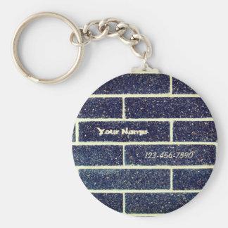Porte-clés Mur de briques