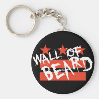 Porte-clés Mur de porte - clé de barbe