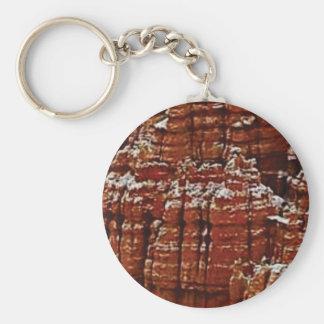 Porte-clés mur de roche de forme de forme d'érosion