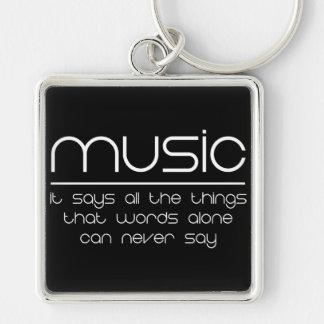 Porte-clés Musique