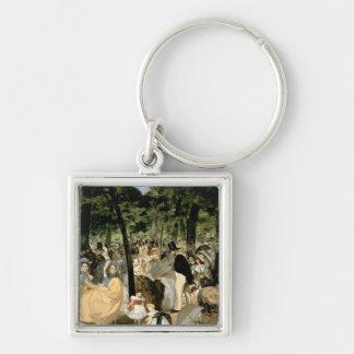 Porte-clés Musique de Manet | dans les jardins de Tuileries,