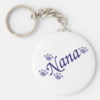 Porte-clés Nana avec le porte - clé de pattes