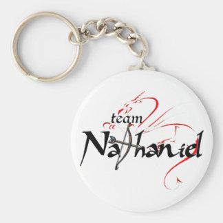 Porte-clés NATHANIEL d'équipe ! (porte - clé léger)