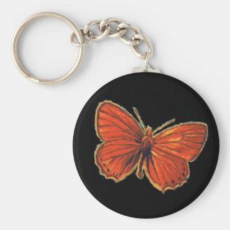 Porte-clés Nature gothique rouge de mite d'insecte d'insecte
