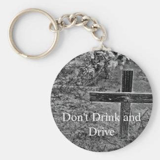 Porte-clés Ne buvez pas et ne conduisez pas le porte - clé