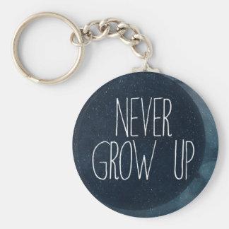 Porte-clés Ne grandissez jamais