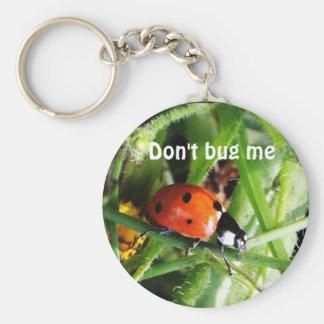 Porte-clés Ne me branchez pas sur table d'écoute porte - clé