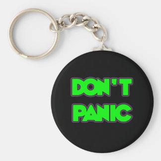 Porte-clés Ne paniquez pas