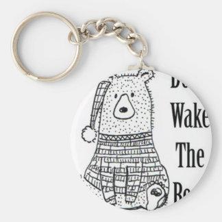 Porte-clés Ne réveillez pas l'ours