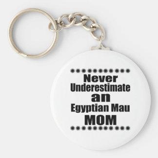 Porte-clés Ne sous-estimez jamais la maman de Mau d'Egyptien