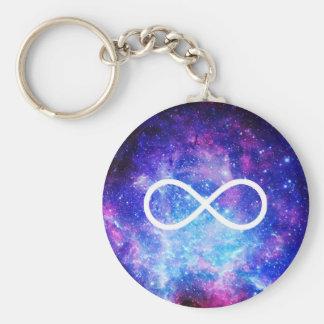 Porte-clés Nébuleuse de symbole d'infini