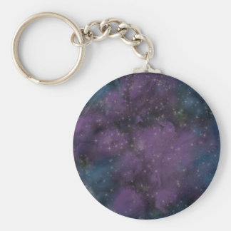 Porte-clés Nébuleuse pourpre de galaxie
