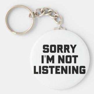 Porte-clés N'écoutant pas