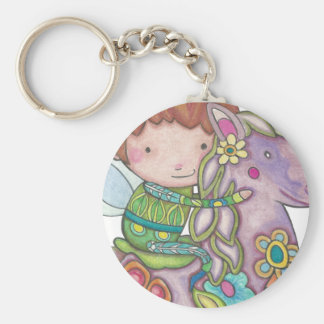 Porte-clés Nelf et sa licorne