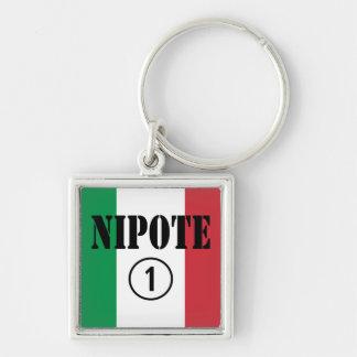 Porte-clés Nièces et petits-enfants italiens de neveux :