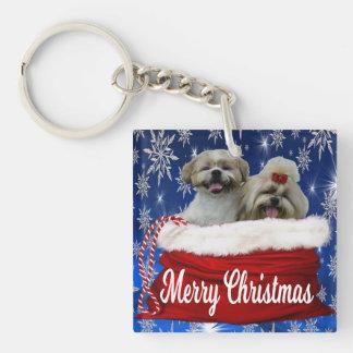 Porte-clés Noël de porte - clé de tzu de Shih