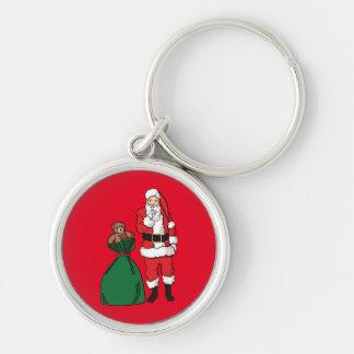 Porte-clés Noël le père noël