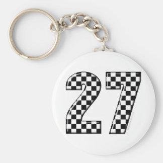 Porte-clés nombre de drapeau de 27 contrôleurs