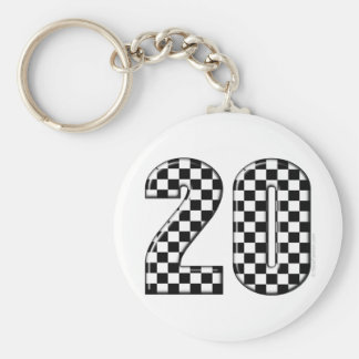 Porte-clés nombre de l'emballage 20 automatique