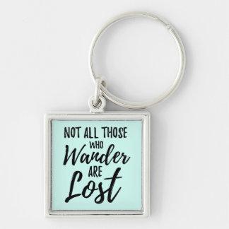 Porte-clés Non tout ceux que Wander sont perdu
