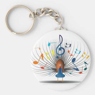 Porte-clés Notes musicales Peecock