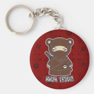 Porte-clés Nounours de Ninja ! Dans le porte - clé rouge