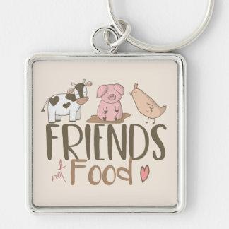 Porte-clés Nourriture 2 d'amis pas
