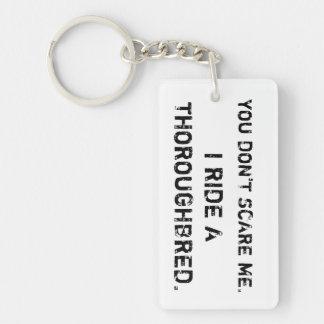 Porte-clés Nous rions face au danger…
