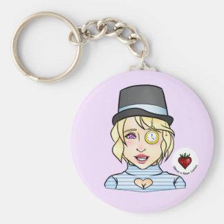 Porte-clés Nous sommes tous ici - porte - clé fou