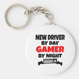 Porte-clés Nouveau conducteur par le Gamer de jour par nuit