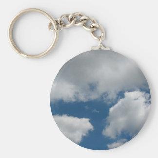 Porte-clés nuages