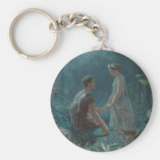 Porte-clés Nuit d'été Hermia et Lysander