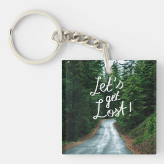 Porte-clés Obtenons perdus ! Citez la forêt verte de