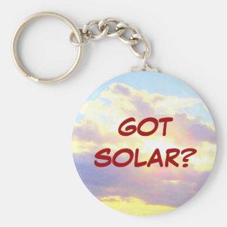 Porte-clés OBTENU SOLAIRE ? porte - clé