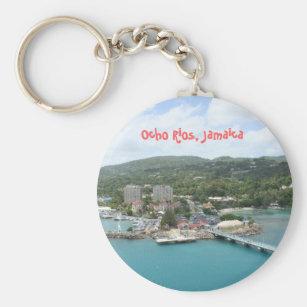 Porte cles clefs cle drapeau collection ville blason jamaique jamaiquain