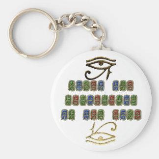 Porte-clés Oeil de porte - clé de protection de Horus