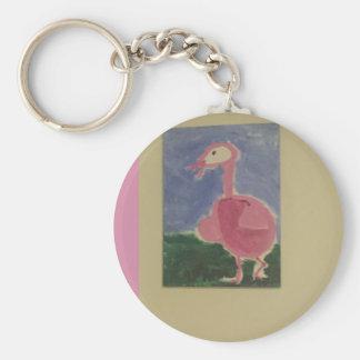 Porte-clés Oiseau de conception d'art