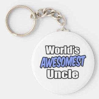 Porte-clés Oncle d'Awesomest du monde
