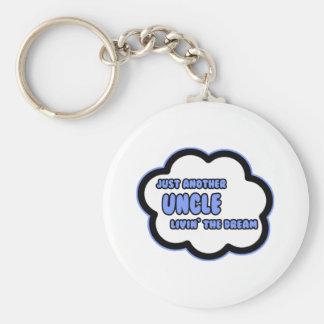 Porte-clés Oncle. Livin le rêve