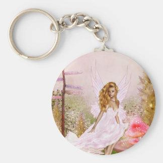 Porte-clés Opale rose