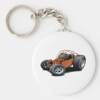 Porte-clés Orange de buggy des sables