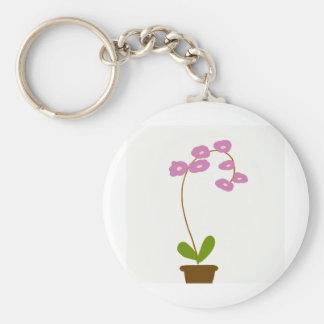 Porte-clés orchidées
