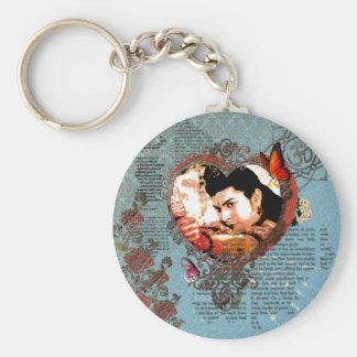 Porte-clés Ornement de seigneur Rama Bollywood God Aum floral